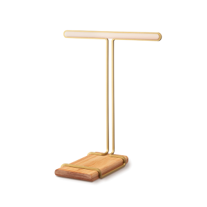 Hooks creative Muse t-stand gold